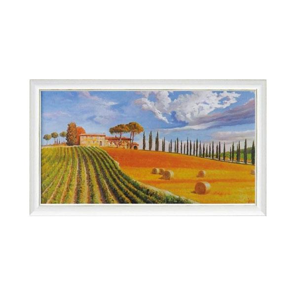 ART FRAMES アドリアーノ ガラッソー コリーヌ トスカーナ AG-20001「他の商品と同梱不可/北海道、沖縄、離島別途送料」