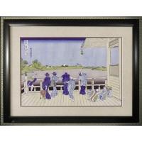 ART FRAMES 葛飾北斎 五百羅漢寺 HK-20001「他の商品と同梱不可/北海道、沖縄、離島別途送料」