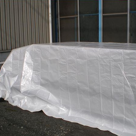 【代引不可】萩原工業 遮熱シート スノーテックス・スーパークール 約2.7×3.6m 8枚入「他の商品と同梱不可/北海道、沖縄、離島別途送料」