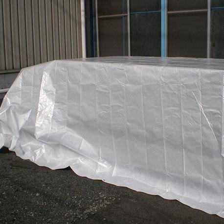 【代引不可】萩原工業 遮熱シート スノーテックス・スーパークール 約3.6×5.4m 4枚入「他の商品と同梱不可/北海道、沖縄、離島別途送料」