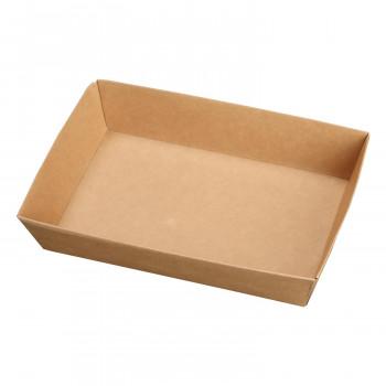 <title>未晒紙を使用した一体折のお弁当容器 ケーピープラテック テイクアウト 紙容器 約320g KM-76 本体 信頼 54635 400個入り 他の商品と同梱不可 北海道 沖縄 離島別途送料</title>