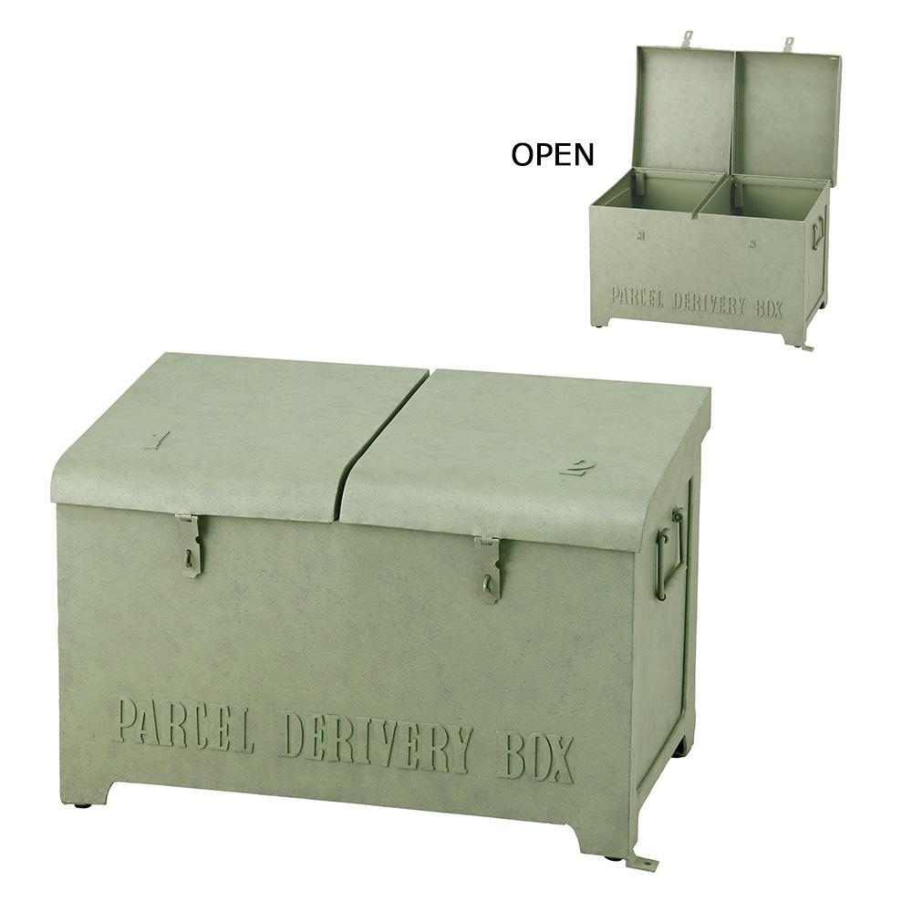 セトクラフト 宅配ボックス リッド グリーン SI-2882-GR-3000「他の商品と同梱不可/北海道、沖縄、離島別途送料」