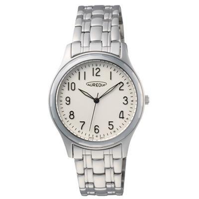 AUREOLE(オレオール) 超硬 メンズ腕時計 SW-491M-3「他の商品と同梱不可/北海道、沖縄、離島別途送料」
