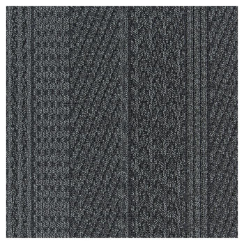 川島織物セルコン ユニットラグ ケーブルニット II 6枚入り UR1817 B「他の商品と同梱不可/北海道、沖縄、離島別途送料」