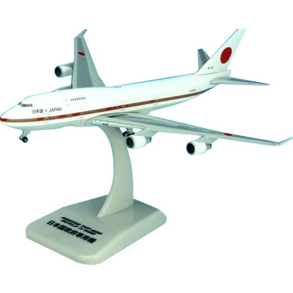 HoganWings/ホーガンウイングス B-747-400 政府専用機 20-1011 1/500スケール スタンド付属 50051「他の商品と同梱不可/北海道、沖縄、離島別途送料」