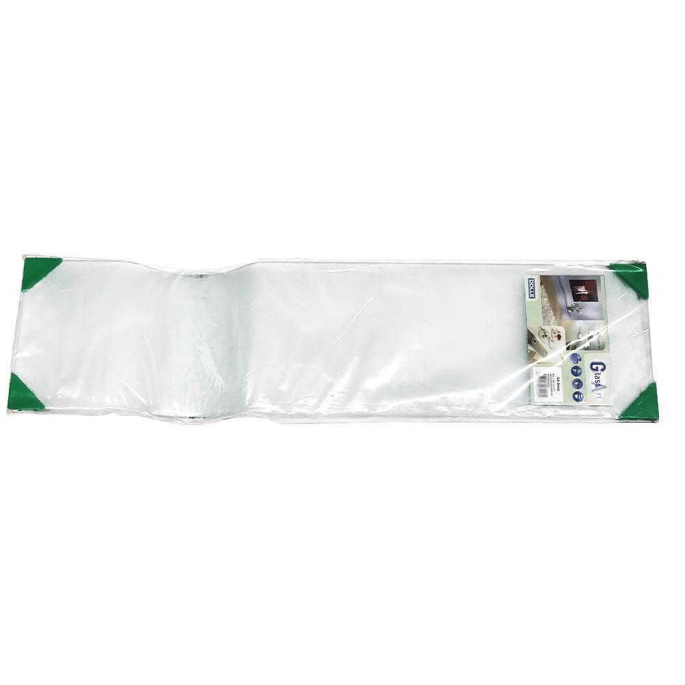 KGY(ケイ・ジー・ワイ工業) グラスアート ガラス棚板 ビープ 80×20×0.8cm つや消し DL-GA32184F「他の商品と同梱不可/北海道、沖縄、離島別途送料」