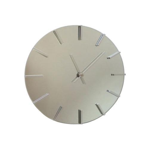 アクトレスクロック ステップ時計 シルバー V-0057「他の商品と同梱不可/北海道、沖縄、離島別途送料」