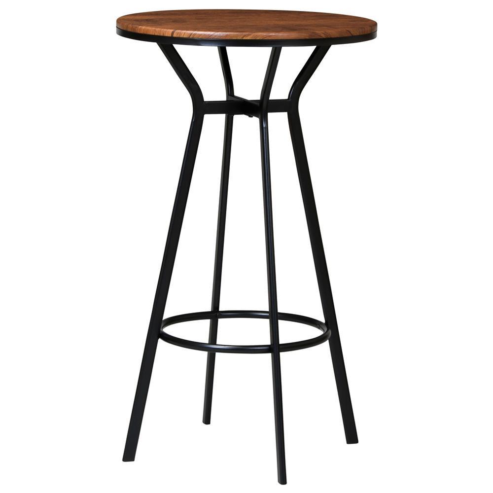 ハイテーブル VH-T60 BR「他の商品と同梱不可/北海道、沖縄、離島別途送料」