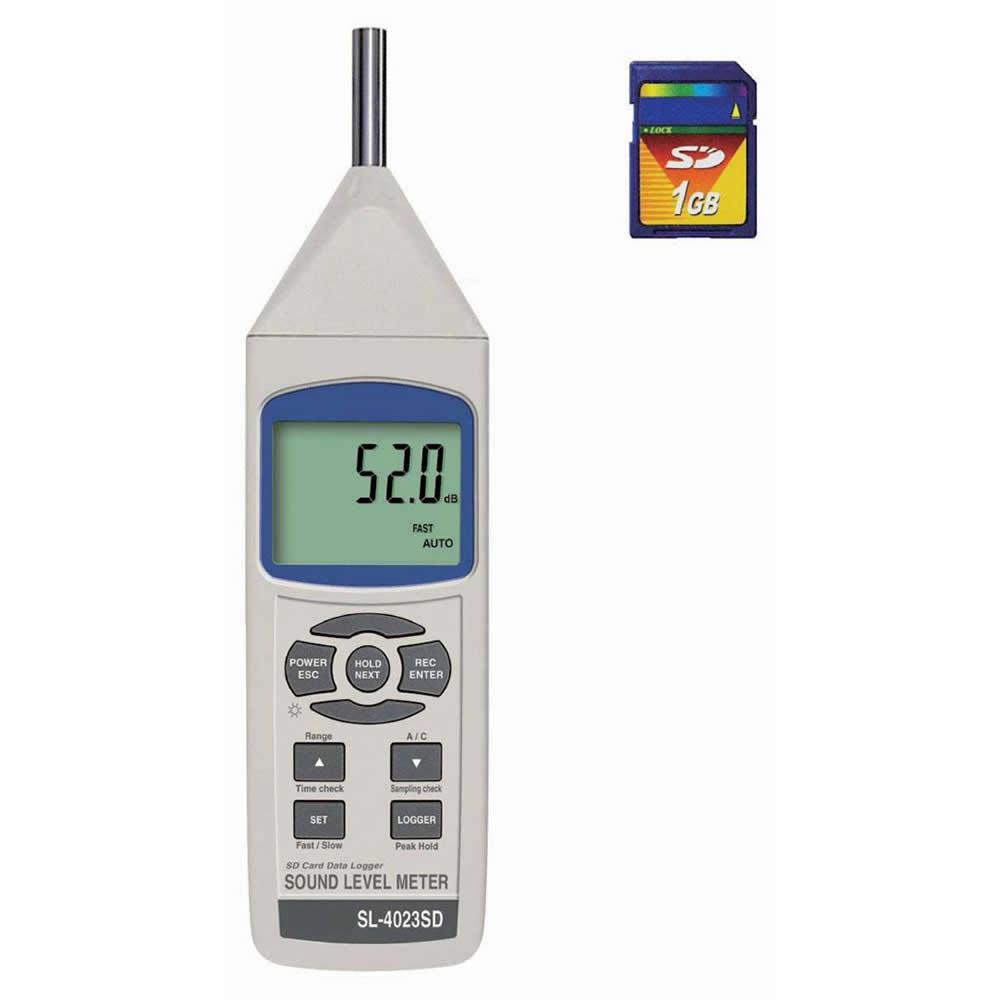 マザーツール SL-4023SD SDカードデータロガデジタル騒音計「他の商品と同梱不可/北海道、沖縄、離島別途送料」