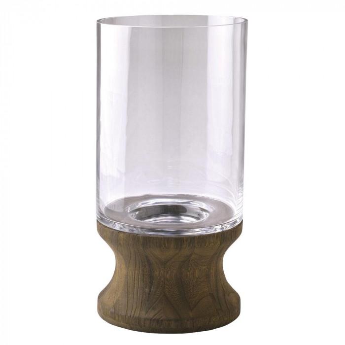 木のぬくもりを感じるガラスベース SPICE BOLD フラワーベース スタンド 離島別途送料 沖縄 再販ご予約限定送料無料 北海道 <セール&特集> DGGZ1030 他の商品と同梱不可