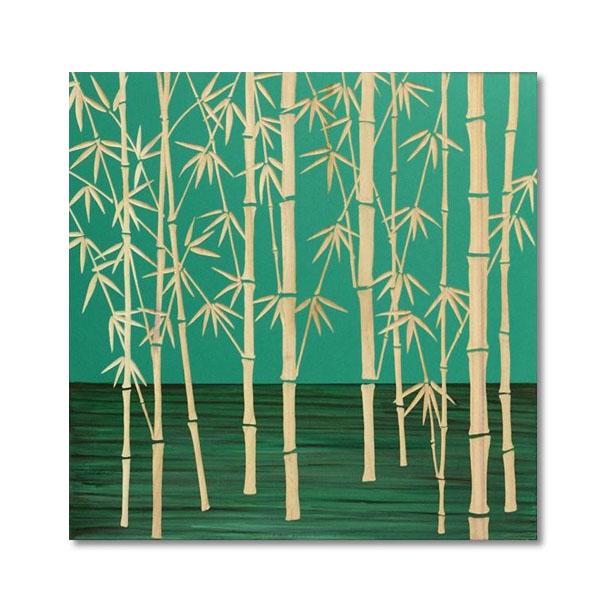 ユーパワー Wood Sculpture Art ウッド スカルプチャー アート フォレスト バンブー (GR+NP) SA-15058「他の商品と同梱不可/北海道、沖縄、離島別途送料」