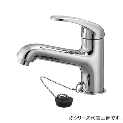三栄 SANEI U-MIX シングルワンホール洗面混合栓 K4710V-13-23「他の商品と同梱不可/北海道、沖縄、離島別途送料」