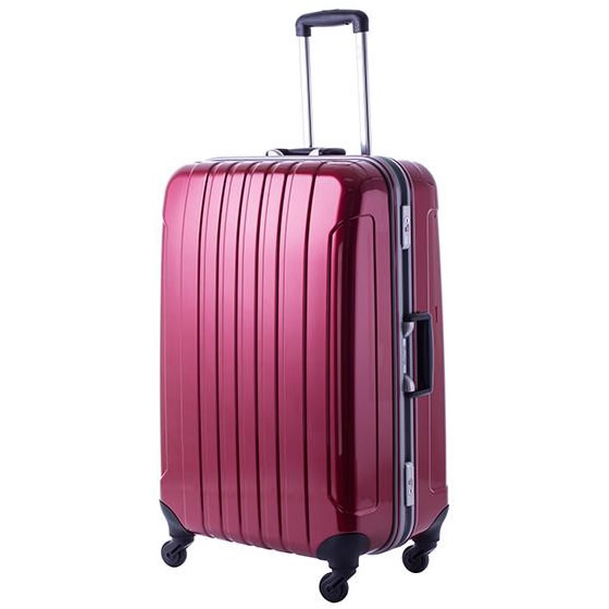 協和 MANHATTAN EXP (マンハッタンエクスプレス) 軽量スーツケース フリーク Lサイズ ME-22 レッド・53-20033「他の商品と同梱不可/北海道、沖縄、離島別途送料」