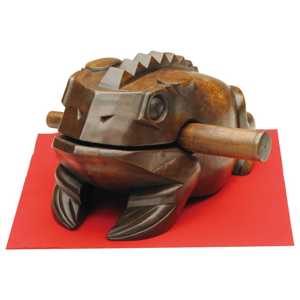 萬洋 木製鳴蛙(特々大) 70-831X「他の商品と同梱不可/北海道、沖縄、離島別途送料」