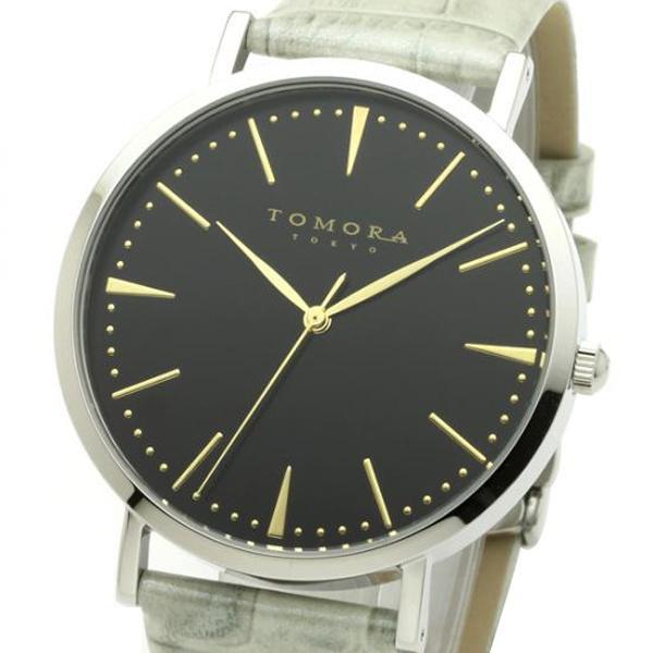 TOMORA TOKYO(トモラ トウキョウ) 腕時計 T-1601-GBKGY「他の商品と同梱不可/北海道、沖縄、離島別途送料」