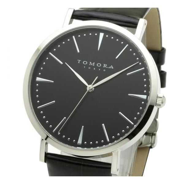 TOMORA TOKYO(トモラ トウキョウ) 腕時計 T-1601-SBKBK「他の商品と同梱不可/北海道、沖縄、離島別途送料」
