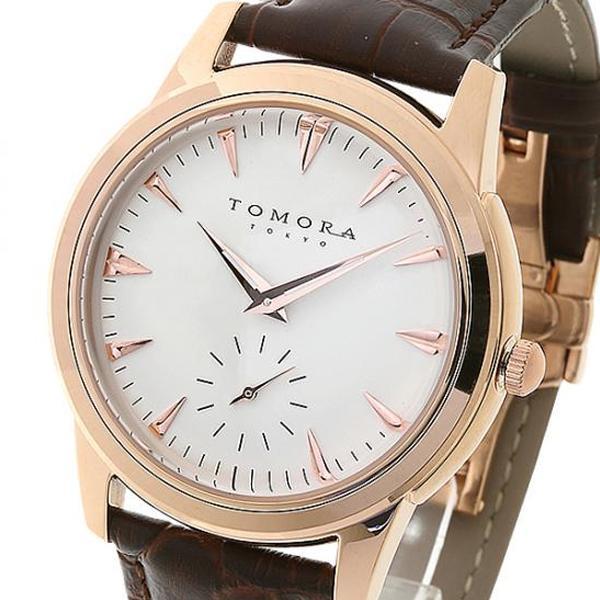 TOMORA TOKYO(トモラ トウキョウ) 腕時計 T-1602-PGWH「他の商品と同梱不可/北海道、沖縄、離島別途送料」