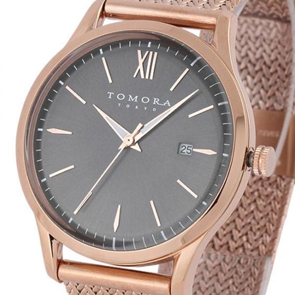 TOMORA TOKYO(トモラ トウキョウ) 腕時計 T-1605SS-PGY「他の商品と同梱不可/北海道、沖縄、離島別途送料」