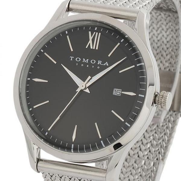 TOMORA TOKYO(トモラ トウキョウ) 腕時計 T-1605SS-SBK「他の商品と同梱不可/北海道、沖縄、離島別途送料」
