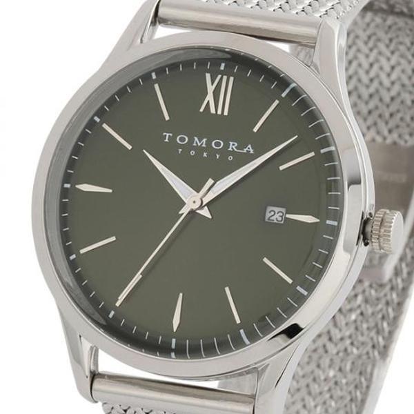 TOMORA TOKYO(トモラ トウキョウ) 腕時計 T-1605SS-SGR「他の商品と同梱不可/北海道、沖縄、離島別途送料」