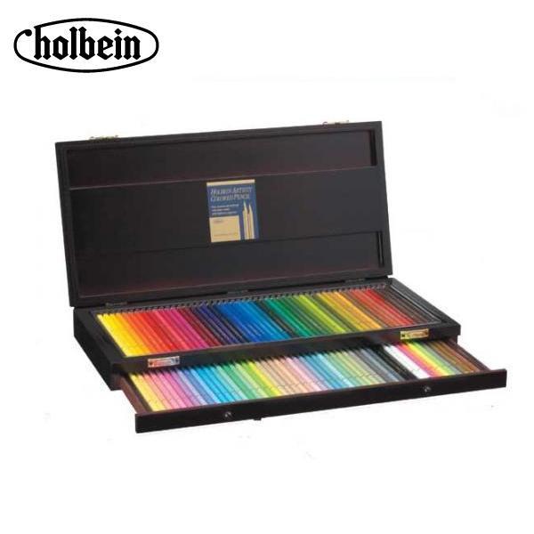 ホルベイン アーチスト色鉛筆 OP941 100色セット(木函入) 20941「他の商品と同梱不可/北海道、沖縄、離島別途送料」