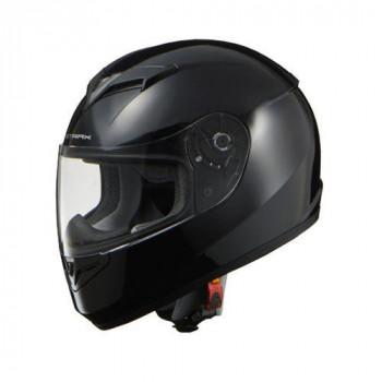 リード工業 STRAX フルフェイスヘルメット ブラック Lサイズ SF-12「他の商品と同梱不可/北海道、沖縄、離島別途送料」