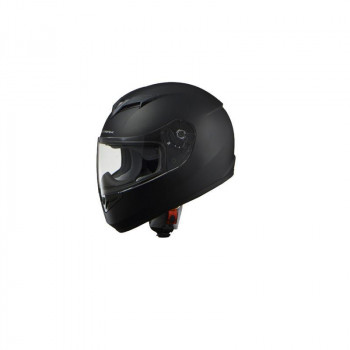 リード工業 STRAX フルフェイスヘルメット マットブラック Lサイズ SF-12「他の商品と同梱不可/北海道、沖縄、離島別途送料」