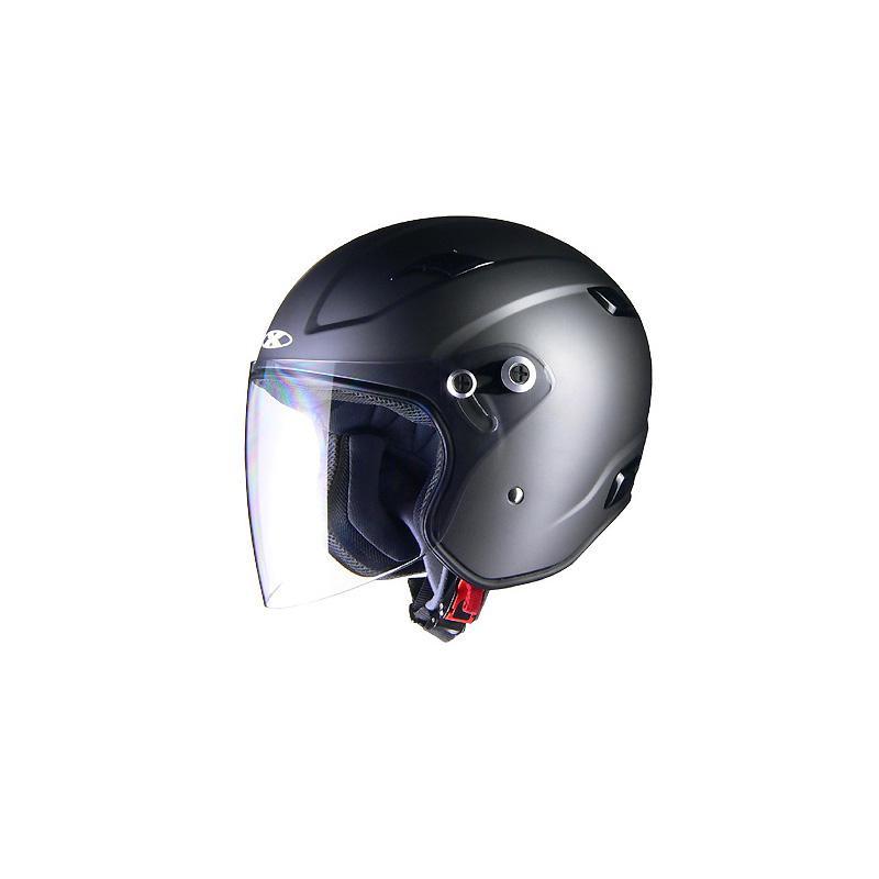 リード工業 X-AIR RAZZOIII ジェットヘルメット スモーキーシルバー Lサイズ「他の商品と同梱不可/北海道、沖縄、離島別途送料」