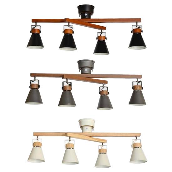 ELUX(エルックス) Lu Cerca(ルチェルカ) SLIDER(スライダー) 4灯シーリングスポットライト「他の商品と同梱不可/北海道、沖縄、離島別途送料」