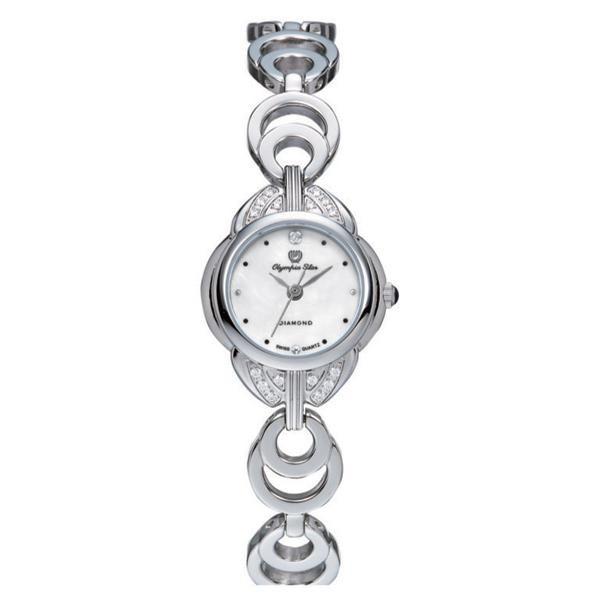 OLYMPIA STAR(オリンピア スター) レディース 腕時計 OP-28007DLS-3「他の商品と同梱不可/北海道、沖縄、離島別途送料」