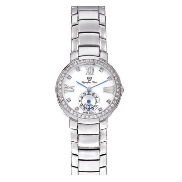 OLYMPIA STAR(オリンピア スター) レディース 腕時計 OP-28012DLS-3「他の商品と同梱不可/北海道、沖縄、離島別途送料」