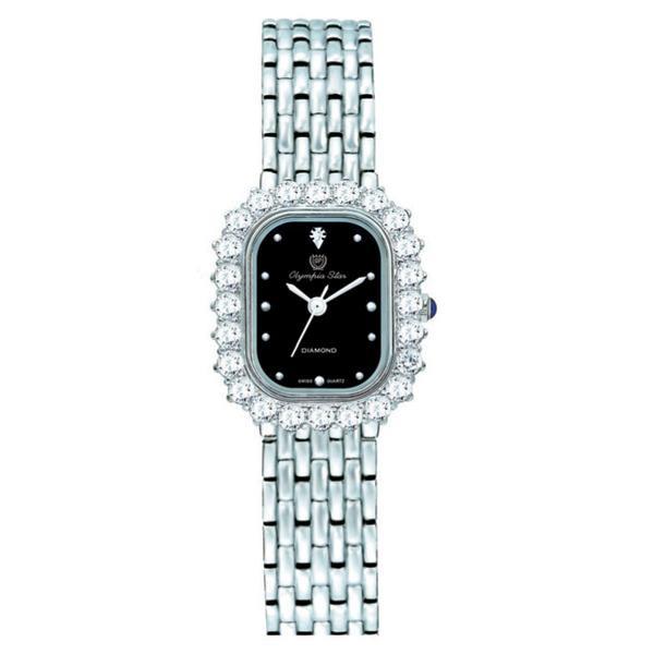 OLYMPIA STAR(オリンピア スター) レディース 腕時計 OP-28015DLS-1「他の商品と同梱不可/北海道、沖縄、離島別途送料」