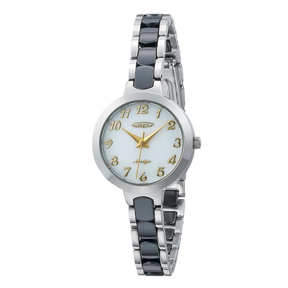 AUREOLE(オレオール) セラミック レディース 腕時計 SW-599L-04「他の商品と同梱不可/北海道、沖縄、離島別途送料」
