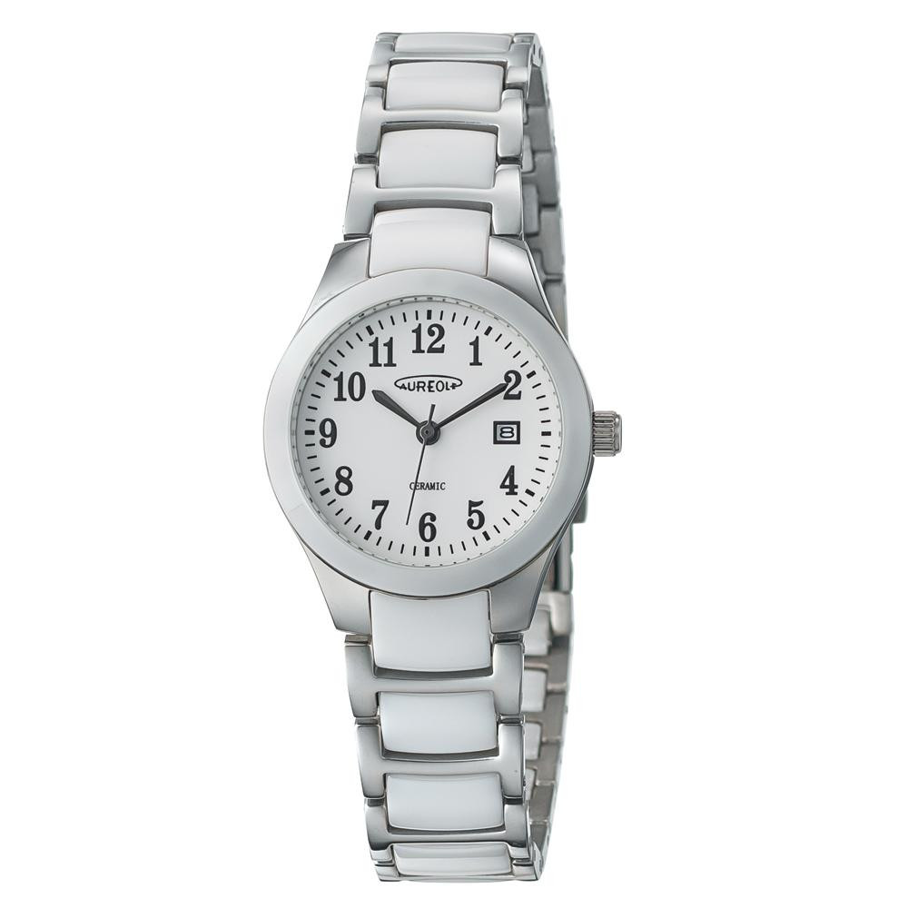 AUREOLE(オレオール) セラミック レディース 腕時計 SW-611L-03「他の商品と同梱不可/北海道、沖縄、離島別途送料」