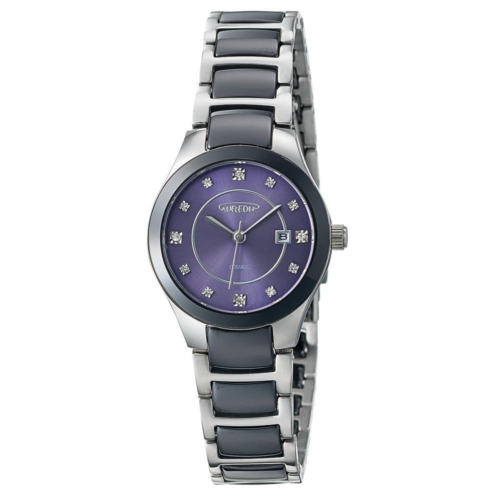 AUREOLE(オレオール) セラミック レディース 腕時計 SW-611L-04「他の商品と同梱不可/北海道、沖縄、離島別途送料」