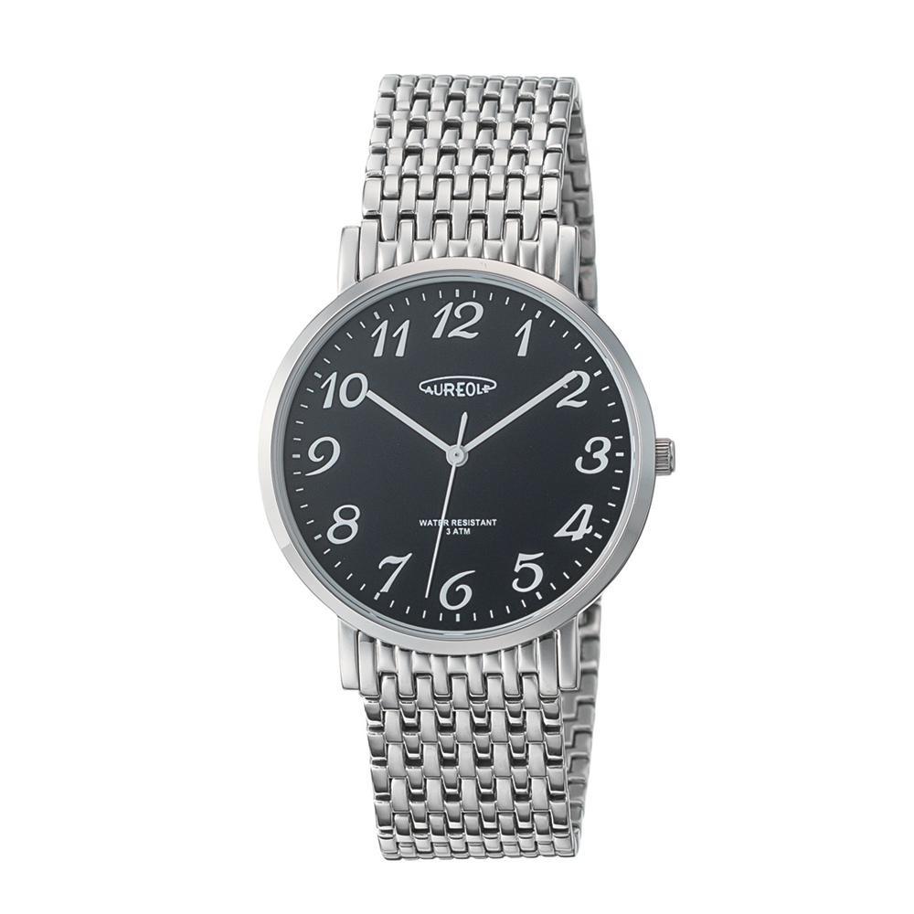 AUREOLE(オレオール) ドレス メンズ 腕時計 SW-613M-01「他の商品と同梱不可/北海道、沖縄、離島別途送料」