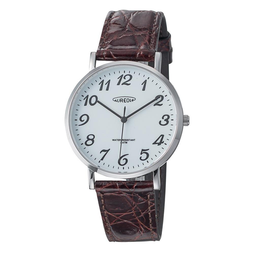 AUREOLE(オレオール) ドレス メンズ 腕時計 SW-613M-05「他の商品と同梱不可/北海道、沖縄、離島別途送料」