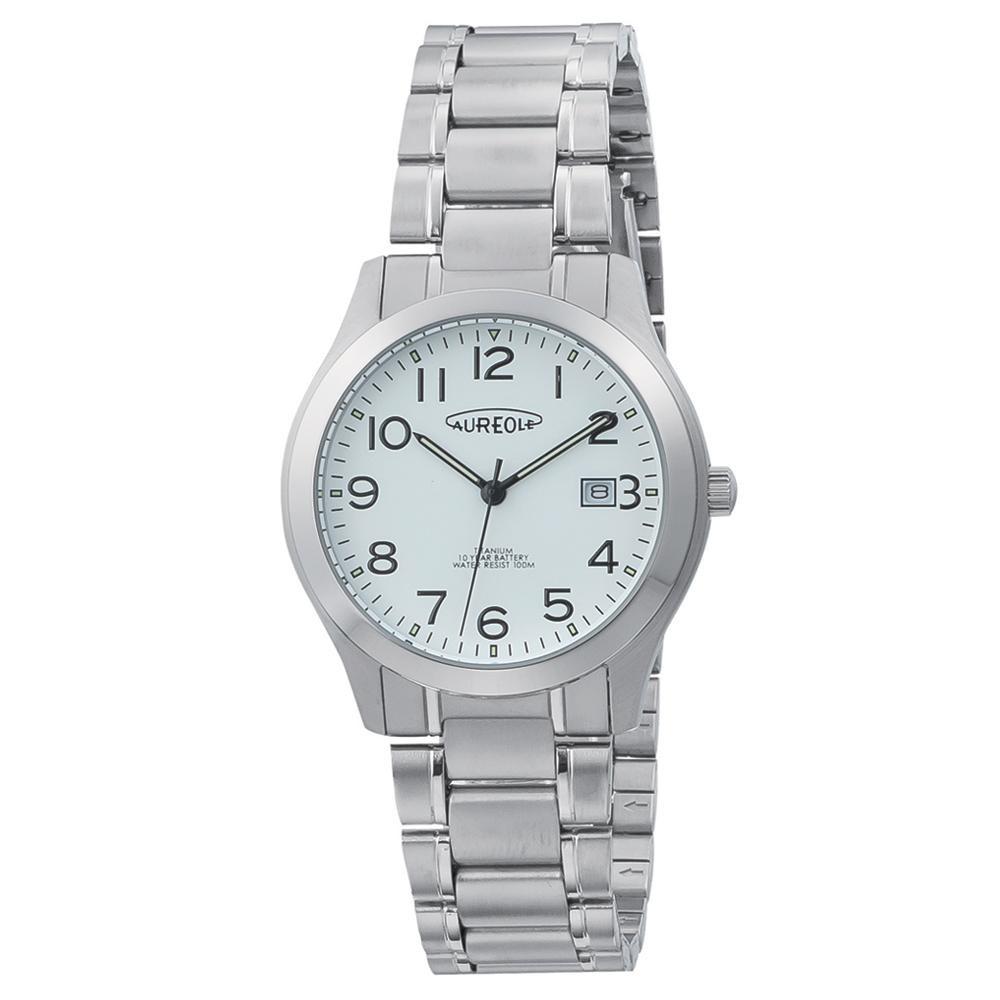 AUREOLE(オレオール) ドレス メンズ 腕時計 SW-598M-06「他の商品と同梱不可/北海道、沖縄、離島別途送料」