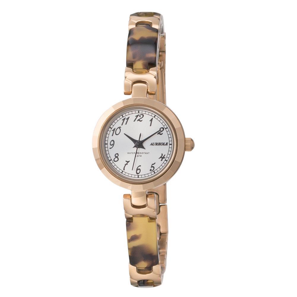 AUREOLE(オレオール) 日本製 レディース 腕時計 SW-588L-D「他の商品と同梱不可/北海道、沖縄、離島別途送料」