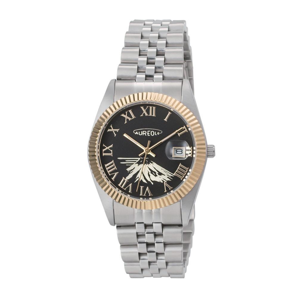 AUREOLE(オレオール) 日本製 メンズ 腕時計 SW-592M-A「他の商品と同梱不可/北海道、沖縄、離島別途送料」
