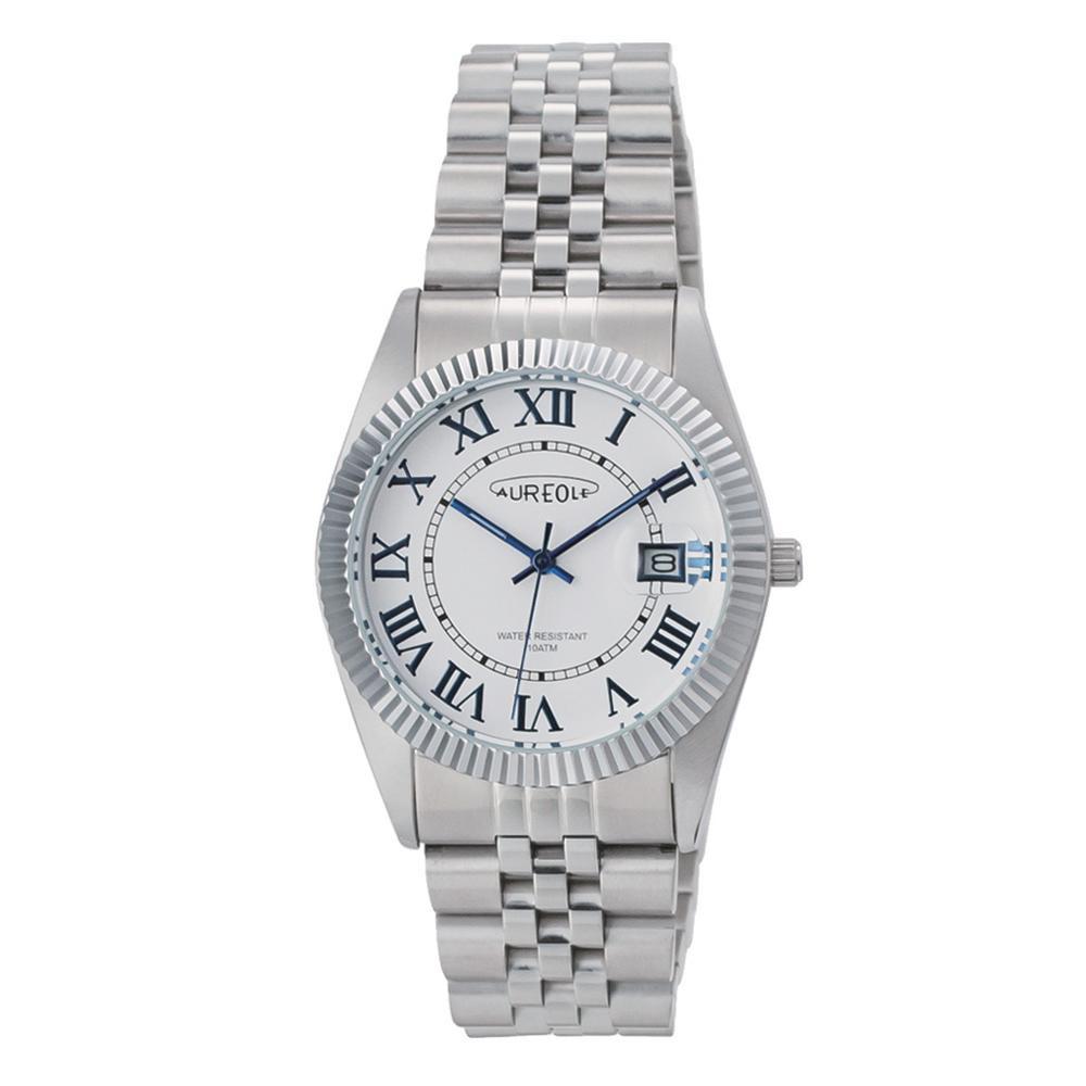 AUREOLE(オレオール) 日本製 メンズ 腕時計 SW-592M-C「他の商品と同梱不可/北海道、沖縄、離島別途送料」