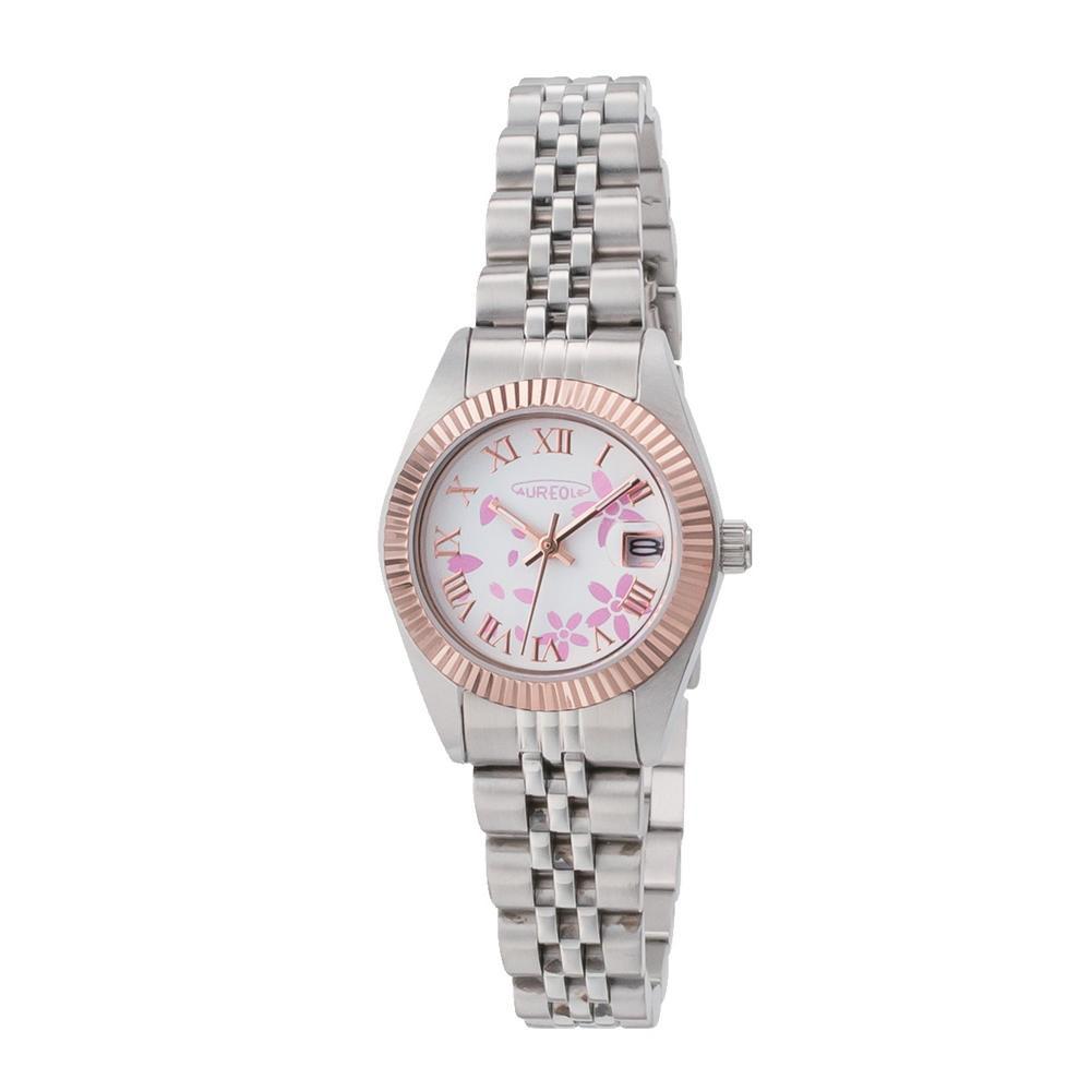 AUREOLE(オレオール) 日本製 レディース 腕時計 SW-592L-D「他の商品と同梱不可/北海道、沖縄、離島別途送料」