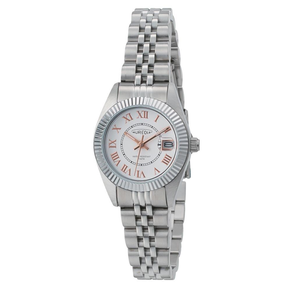 AUREOLE(オレオール) 日本製 レディース 腕時計 SW-592L-F「他の商品と同梱不可/北海道、沖縄、離島別途送料」