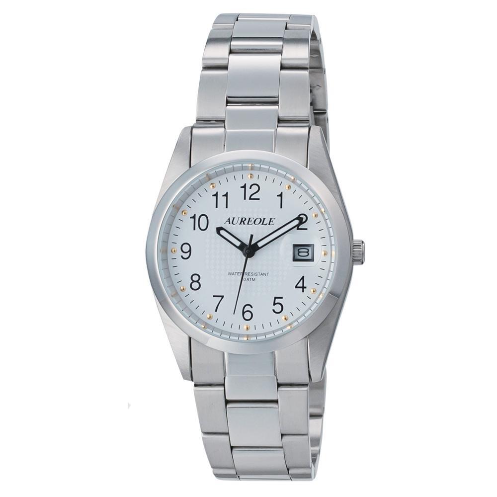 AUREOLE(オレオール) 日本製 メンズ 腕時計 SW-591M-C「他の商品と同梱不可/北海道、沖縄、離島別途送料」