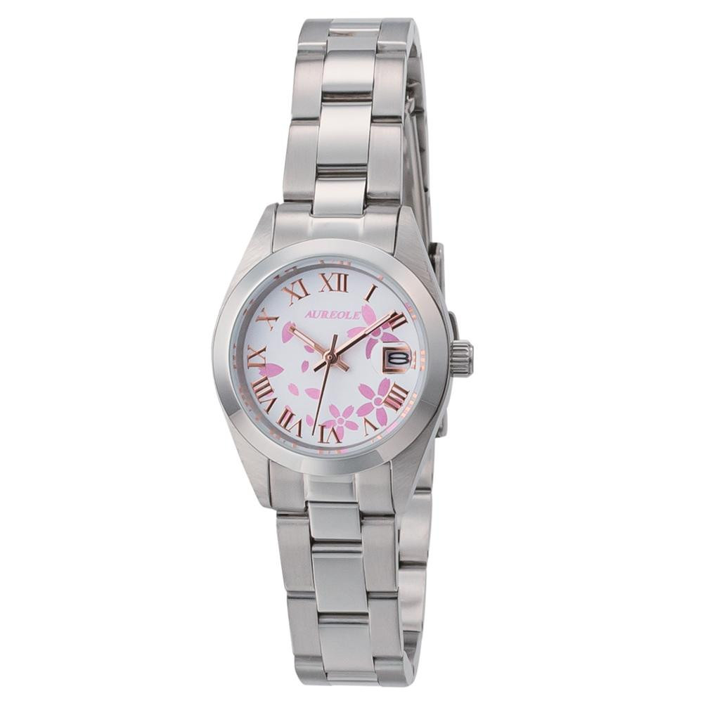 AUREOLE(オレオール) 日本製 レディース 腕時計 SW-591L-D「他の商品と同梱不可/北海道、沖縄、離島別途送料」