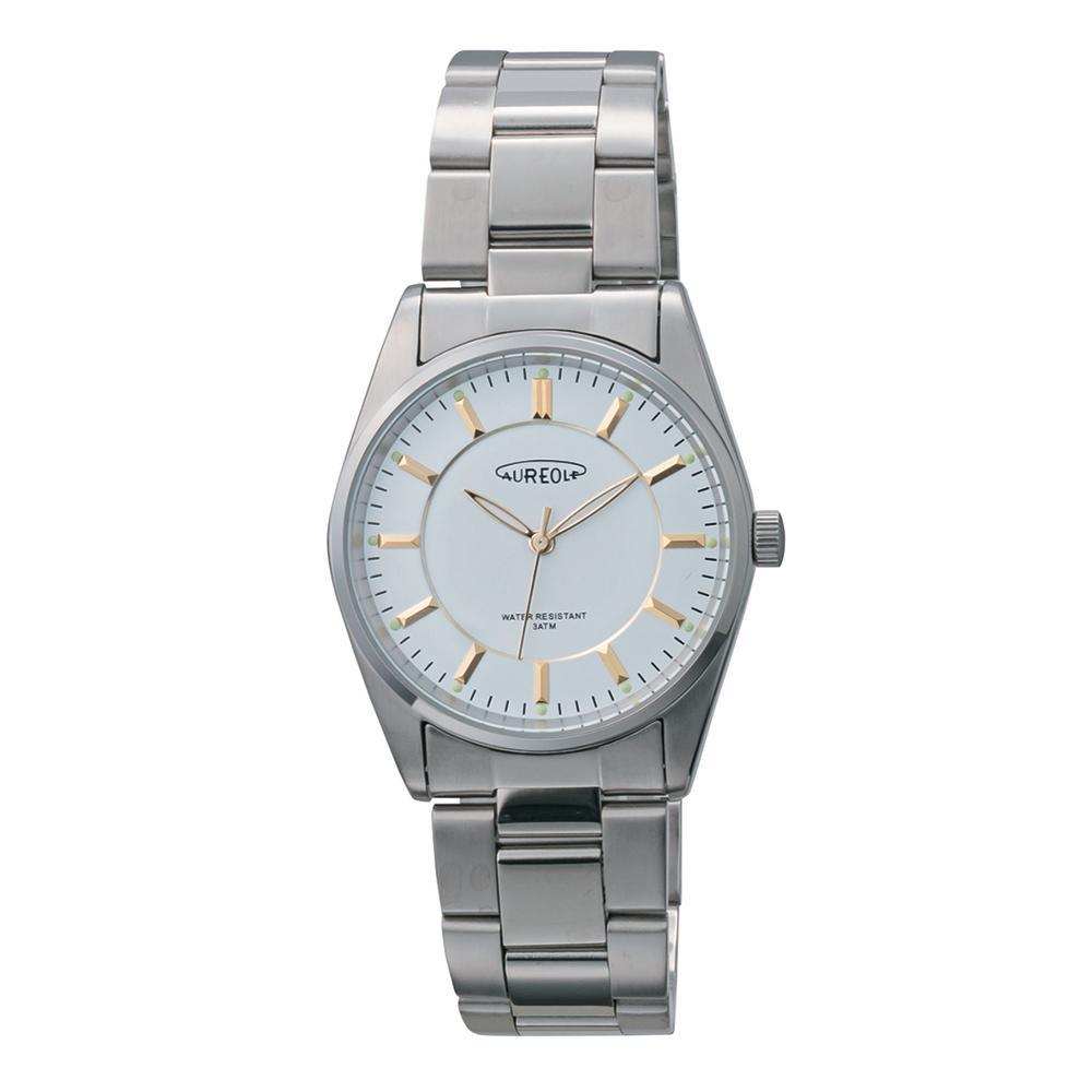 AUREOLE(オレオール) 日本製 メンズ 腕時計 SW-594M-C「他の商品と同梱不可/北海道、沖縄、離島別途送料」