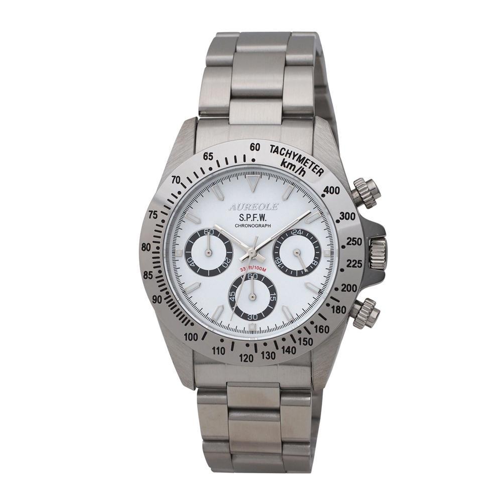 AUREOLE(オレオール) S.P.F.W メンズ 腕時計 SW-610M-03「他の商品と同梱不可/北海道、沖縄、離島別途送料」