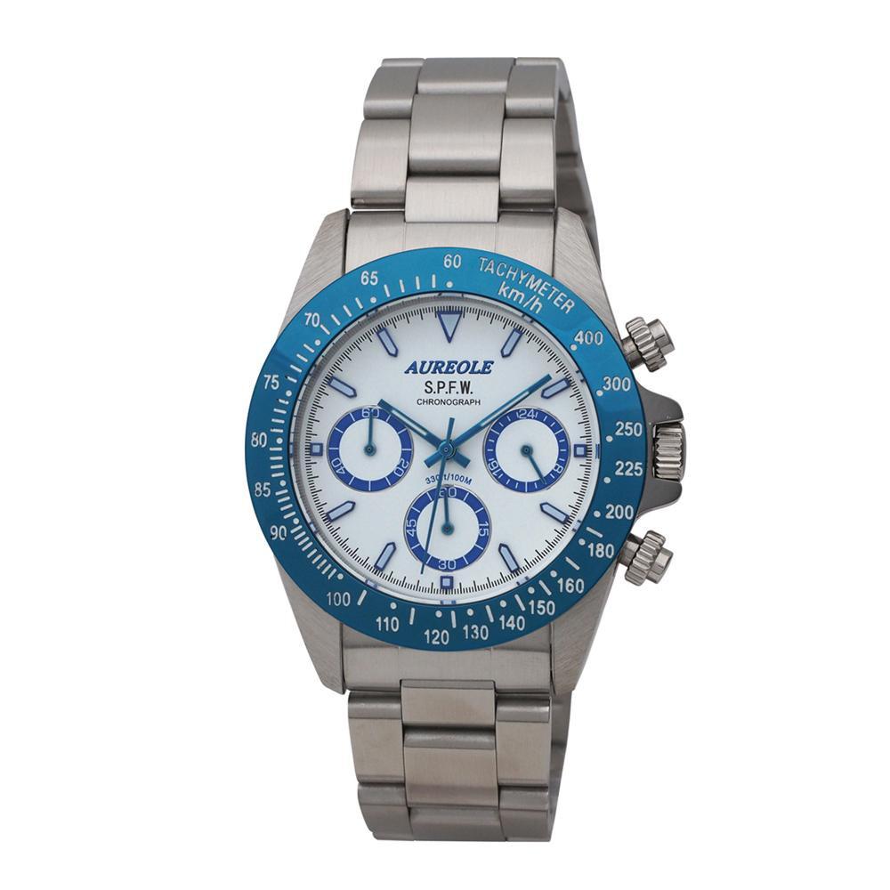 AUREOLE(オレオール) S.P.F.W メンズ 腕時計 SW-610M-04「他の商品と同梱不可/北海道、沖縄、離島別途送料」