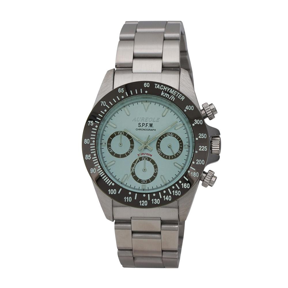 AUREOLE(オレオール) S.P.F.W メンズ 腕時計 SW-610M-06「他の商品と同梱不可/北海道、沖縄、離島別途送料」