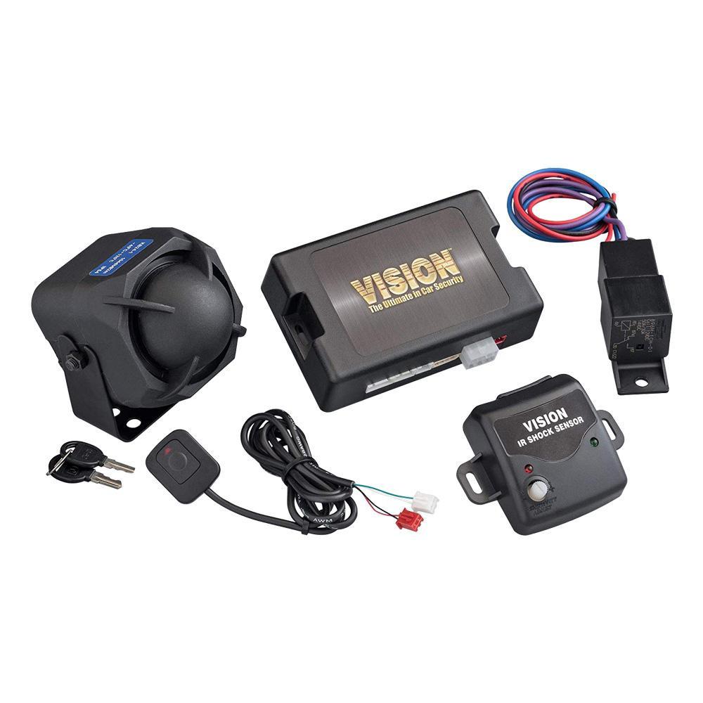 VISION 盗難発生警報装置 24V専用スマートセキュリティ リモコン×2コセット 2460B-2S (2460B+TR365D)「他の商品と同梱不可/北海道、沖縄、離島別途送料」